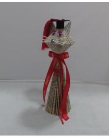 libro-scultura-gatto-laurea