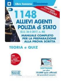 1148 ALLIEVI AGENTI POLIZIA DI STATO