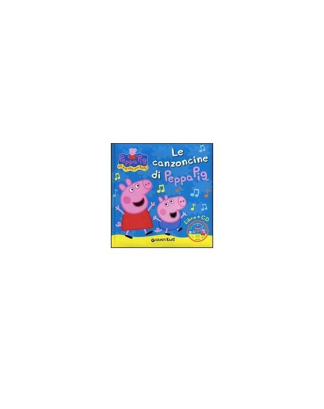CANZONCINE DI PEPPA PIG LIBRO+CD